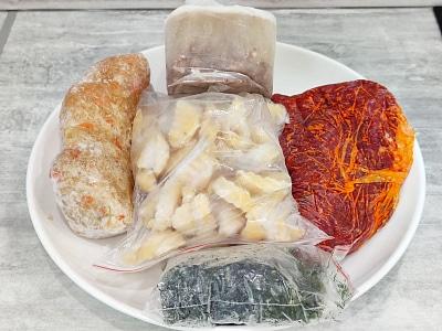 борщ из замороженных продуктов