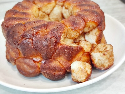 Отрывной пирог с вареной сгущенкой