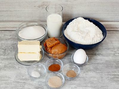 продукты для отрывного пирога со сгущенкой