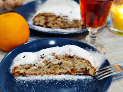 Штоллен рождественский пирог