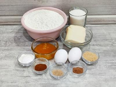 продукты для выпечки имбирного печенья
