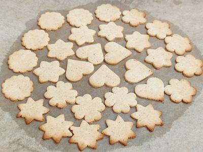 выпекать имбирное печенье на пергаменте