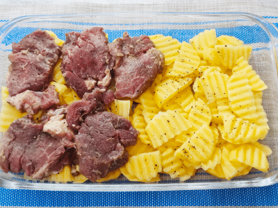 слой мяса